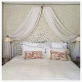 Bed Canopy made with Pepe Voile