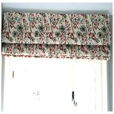 Handmade Roman Blind made with St Jude fabric