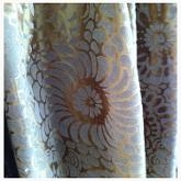 Bronze Silk fabric from James Brindley